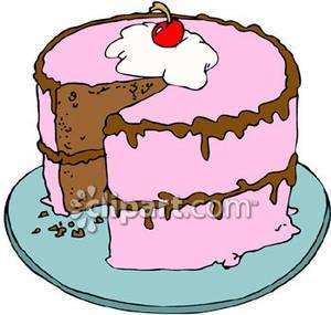 300x285 Cake Clip Art Free
