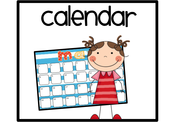 605x414 Calendar Clip Art Free