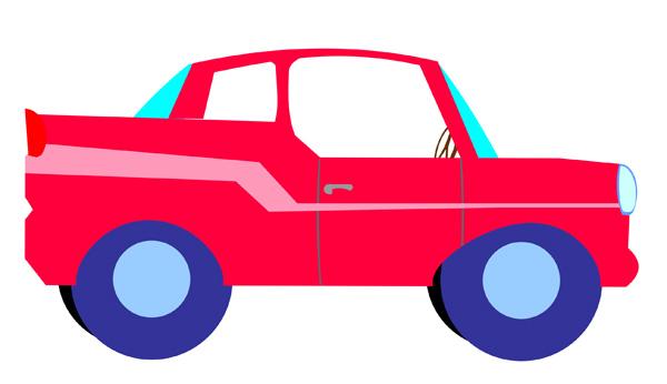 600x346 Free Car Clip Art