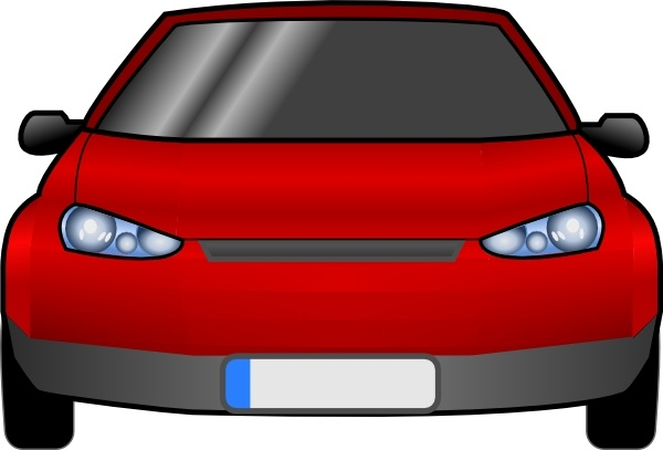 600x407 Car Front Clip Art Free Vector In Open Office Drawing Svg ( Svg