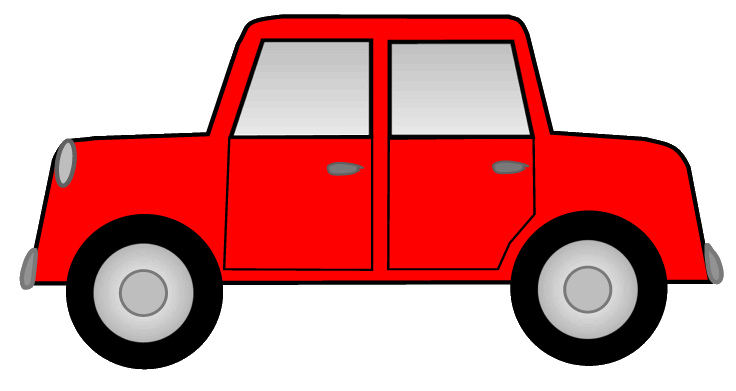 736x391 Car Clipart Red Car