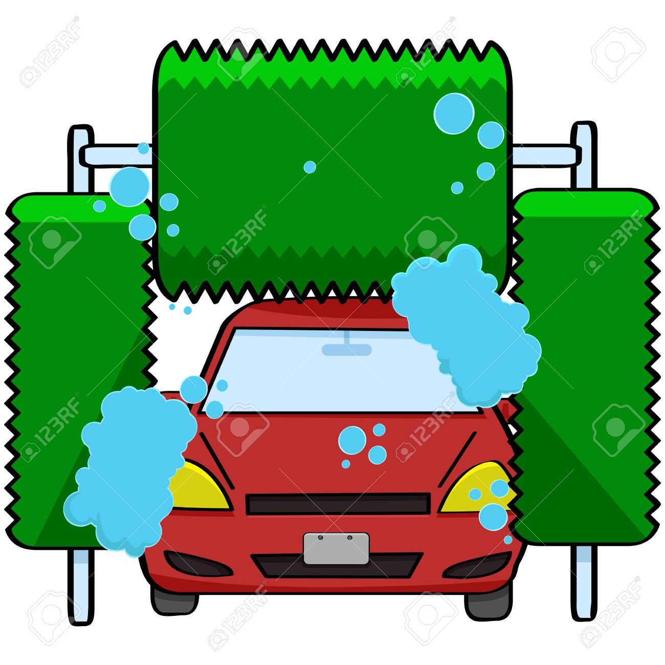 1300x1300 Automatic Car Wash Brushes Car Wash Clipart, Explore Pictures