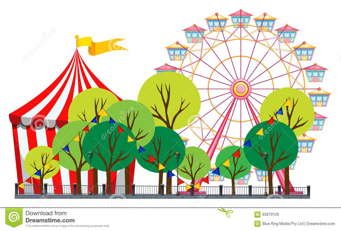 1300x880 Carnival Clipart Carnival Scene