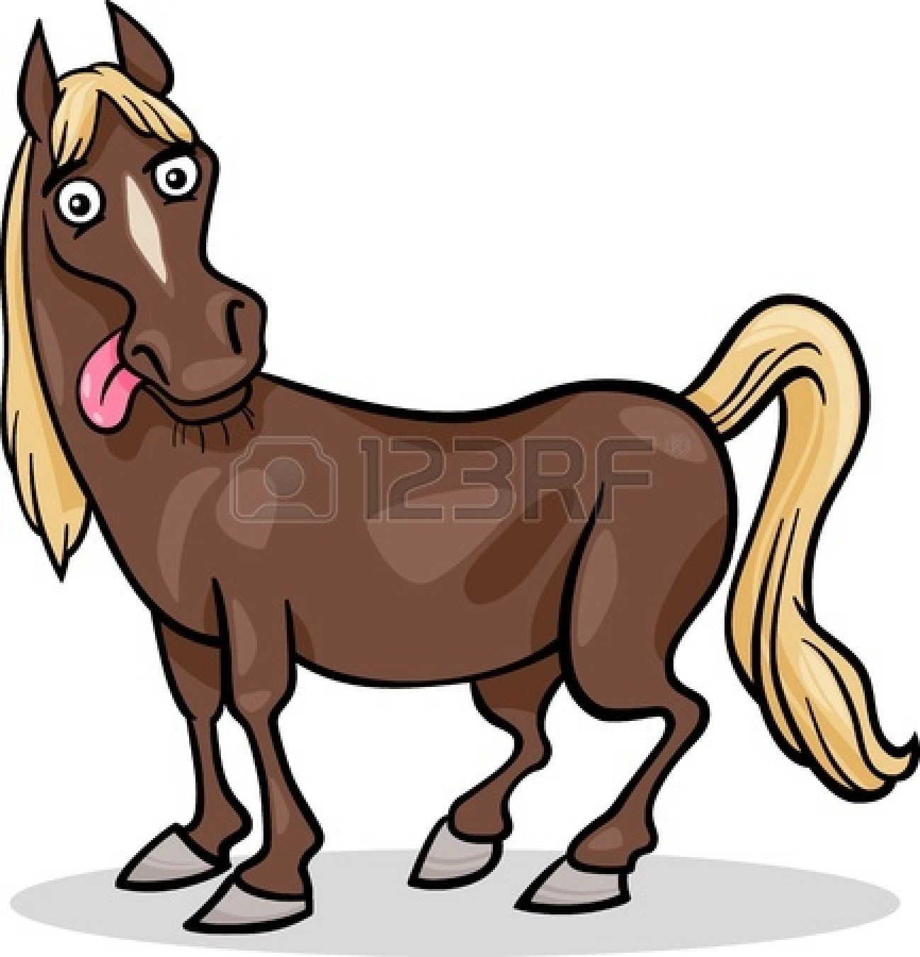 1299x1350 Funny Cartoon Horses Clipart