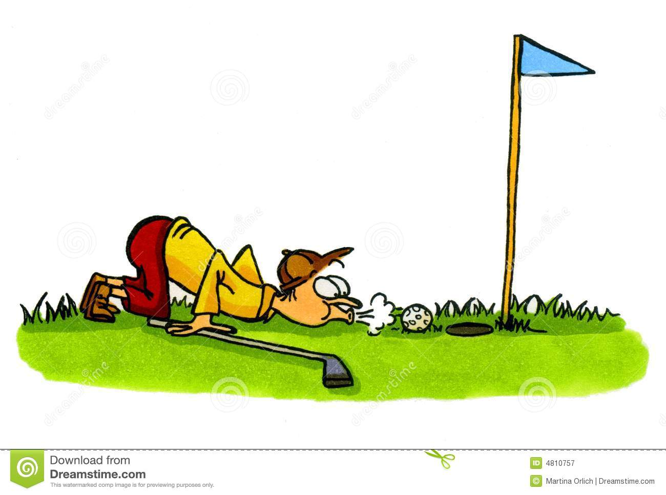 1300x968 Golf Cartoons Clipart