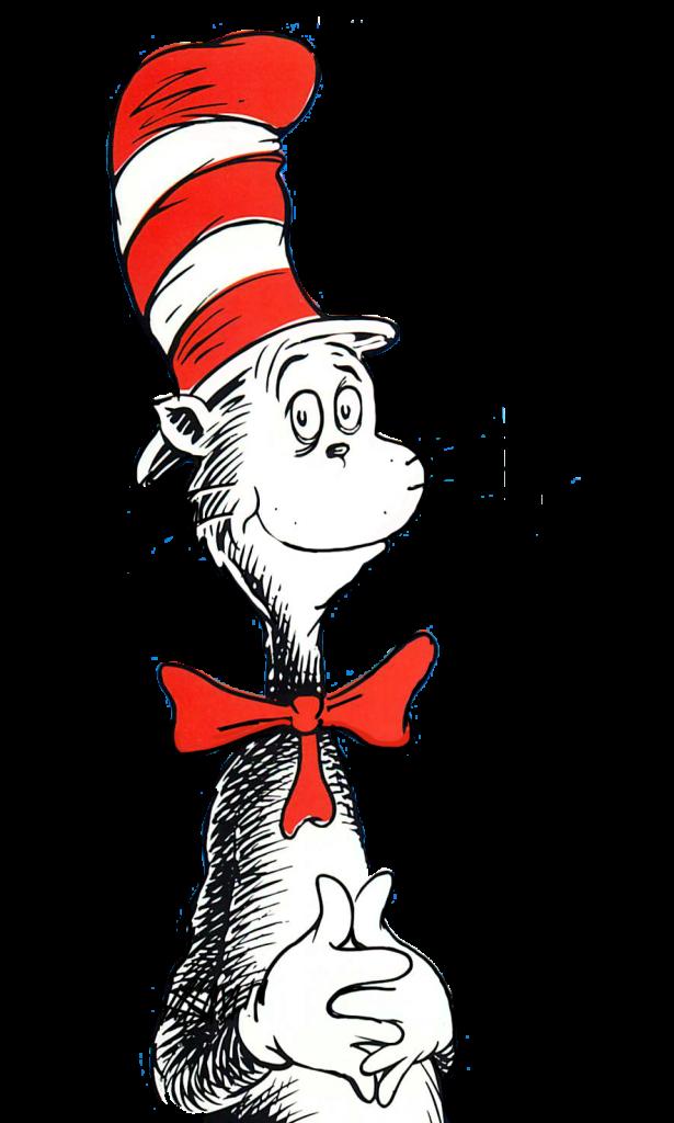 615x1024 Best Cat In The Hat Clip Art