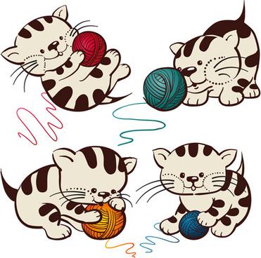 371x368 Cute Cat Clip Art Free Vector Download (213,944 Free Vector)