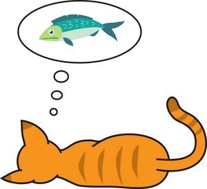 300x273 Free Cat Clip Art Image