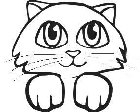 287x229 Free Clip Art Cat