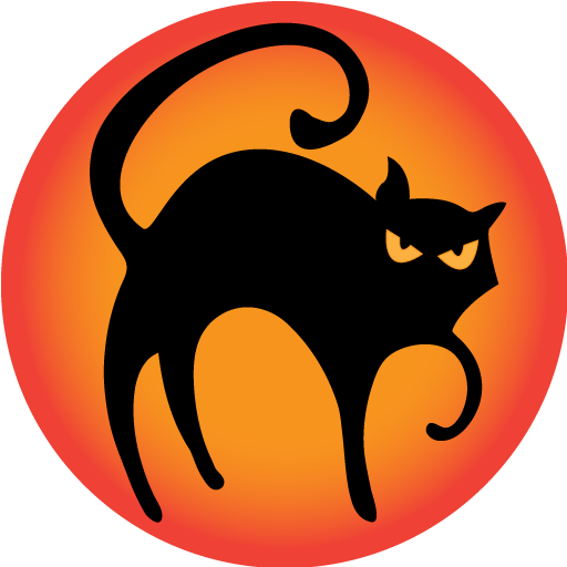 512x512 Free To Use Amp Public Domain Black Cat Clip Art