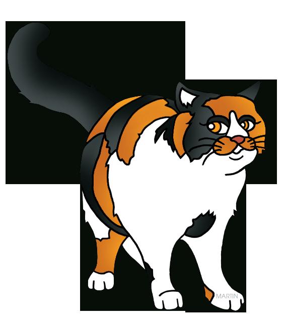 566x648 Calico Cat Clipart Free Kitten