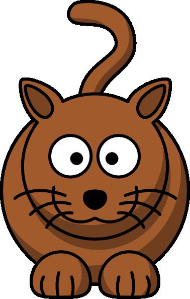 378x594 Cartoon Cat Clip Art Free Vector 4vector