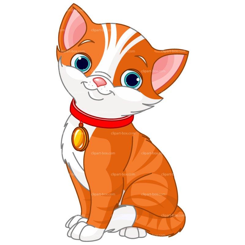 800x800 Cartoon Cat Clip Art Clipart