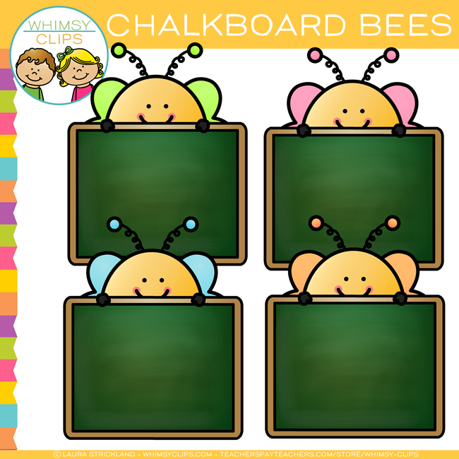 650x650 Free Chalkboard Bee Clip Art , Images Amp Illustrations Whimsy Clips