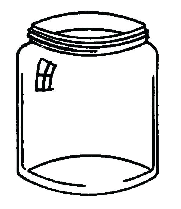 600x691 Free Mason Jar Clipart Vector Collection Of Chalkboard Style Mason