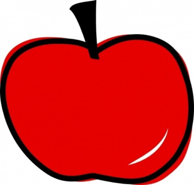 626x598 Apple Clipart Chalkboard