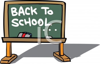 350x226 Royalty Free School Chalkboard Clipart