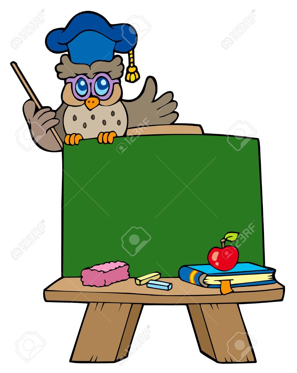 1036x1300 Blackboard Clipart Owl