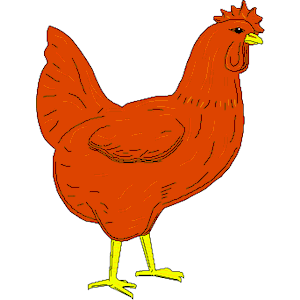300x300 Clipart Chicken