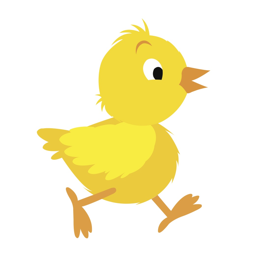 1050x1050 Yellow Chicken Clipart Clipartfest