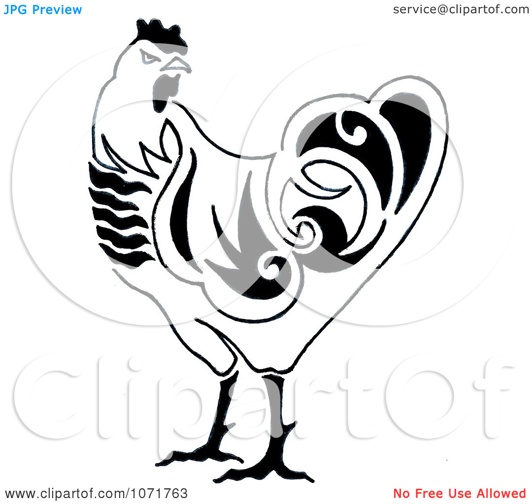 1080x1024 Cute Chicken Clipart Black And White Clipart Panda