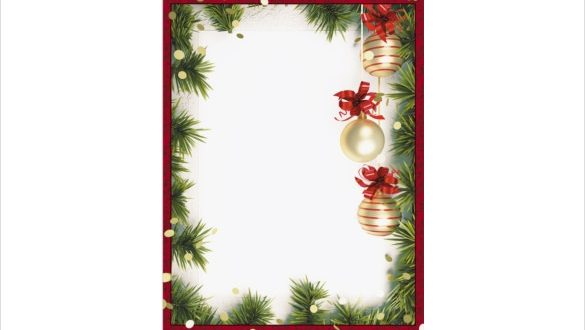 free christmas borders for microsoft word
