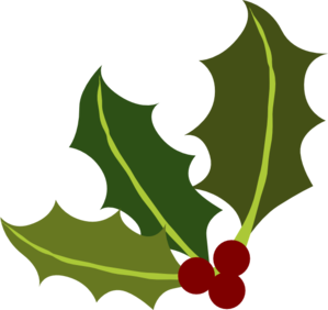 299x282 Clip Art Holly