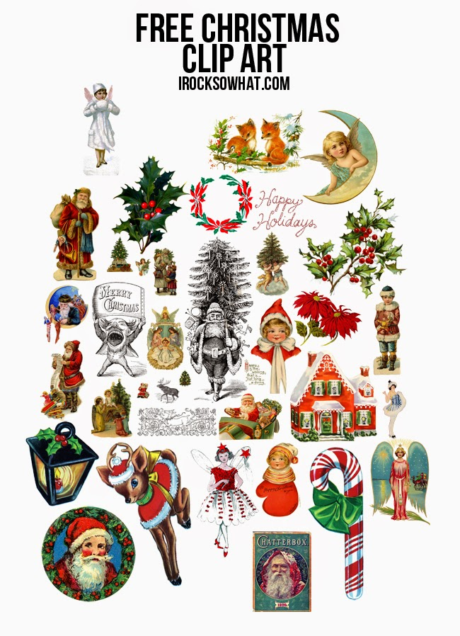 650x898 Irocksowhat Free Christmas Clip Art