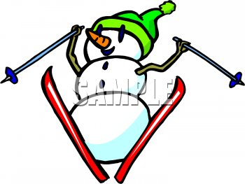 350x263 Nice Free Clipart Skiing Royalty Free Snowman Clip Art Christmas