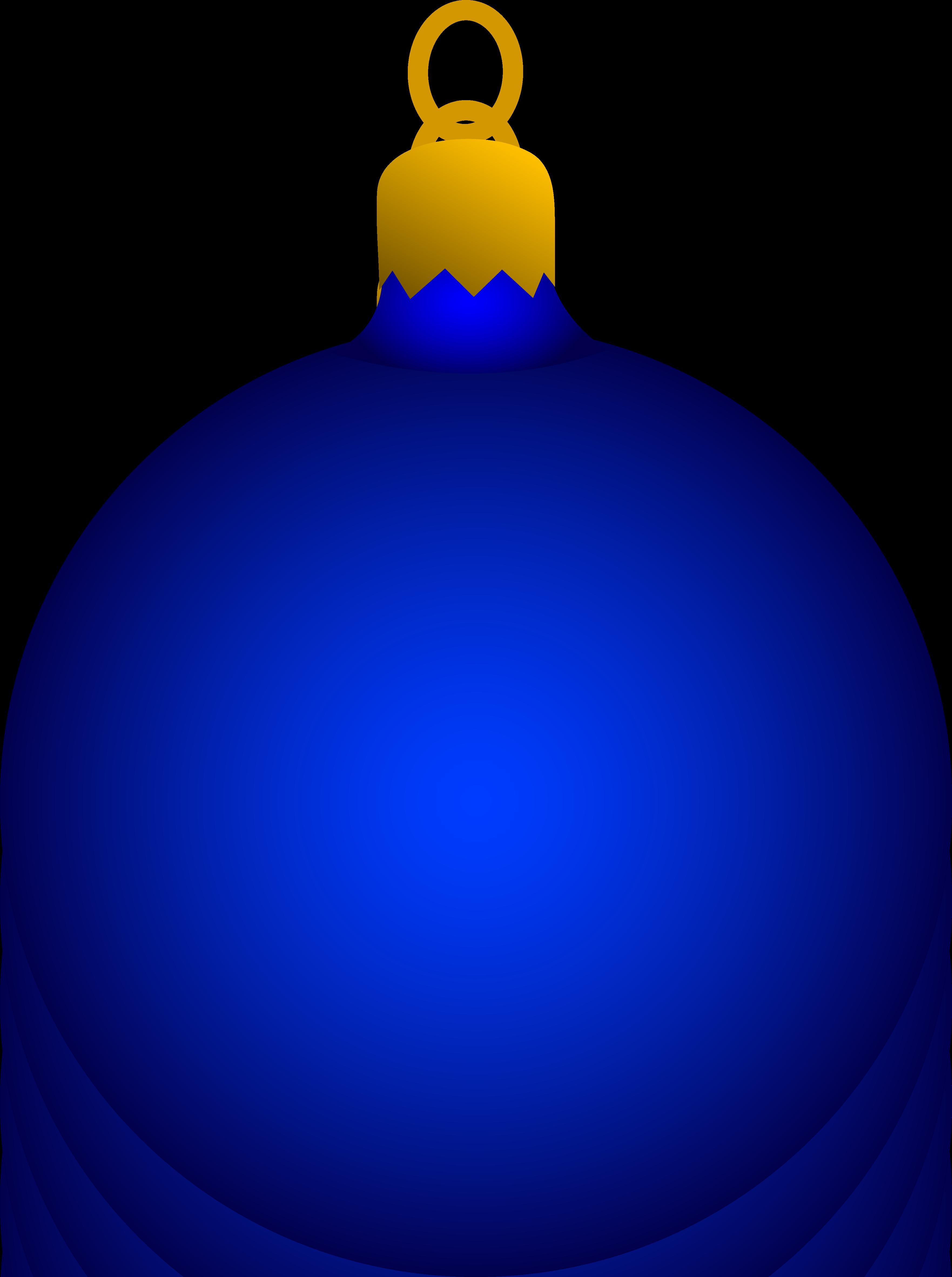 3525x4730 Blue Christmas Tree Ornament