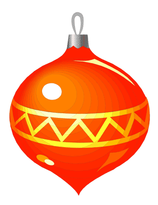308x400 Christmas Ornament Clip Art