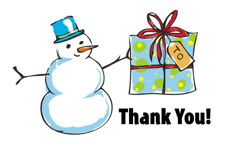 Free Christmas Thank You Clipart Free Download Best Free Christmas