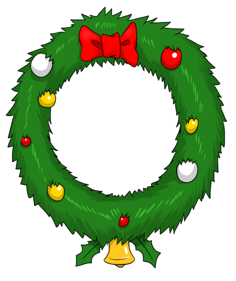 481x572 Free To Use Amp Public Domain Christmas Wreath Clip Art