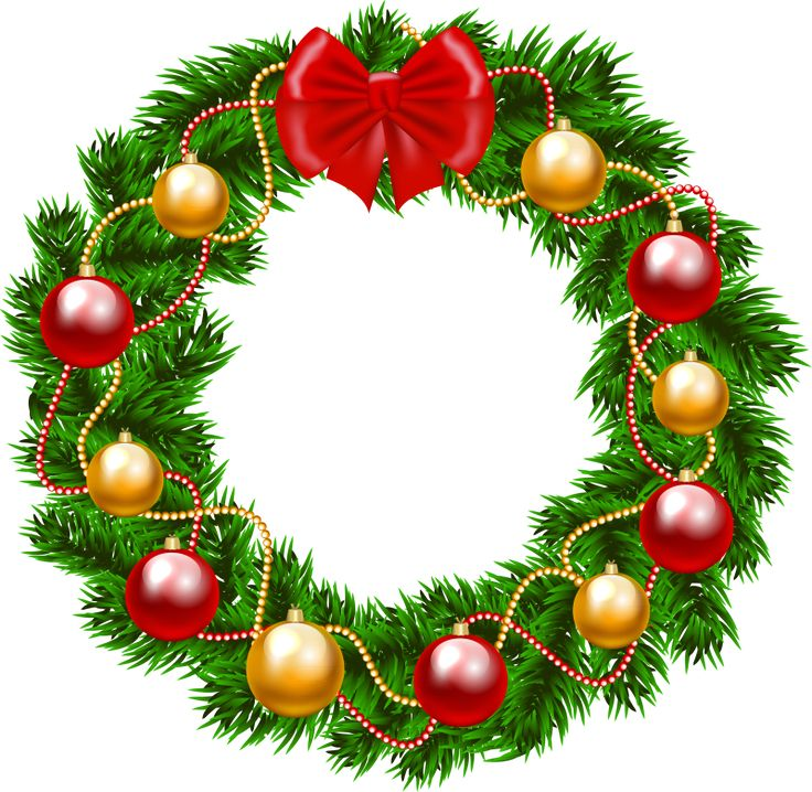 picture about Christmas Wreath Printable titled Totally free Xmas Wreath Clipart Totally free obtain least difficult Absolutely free