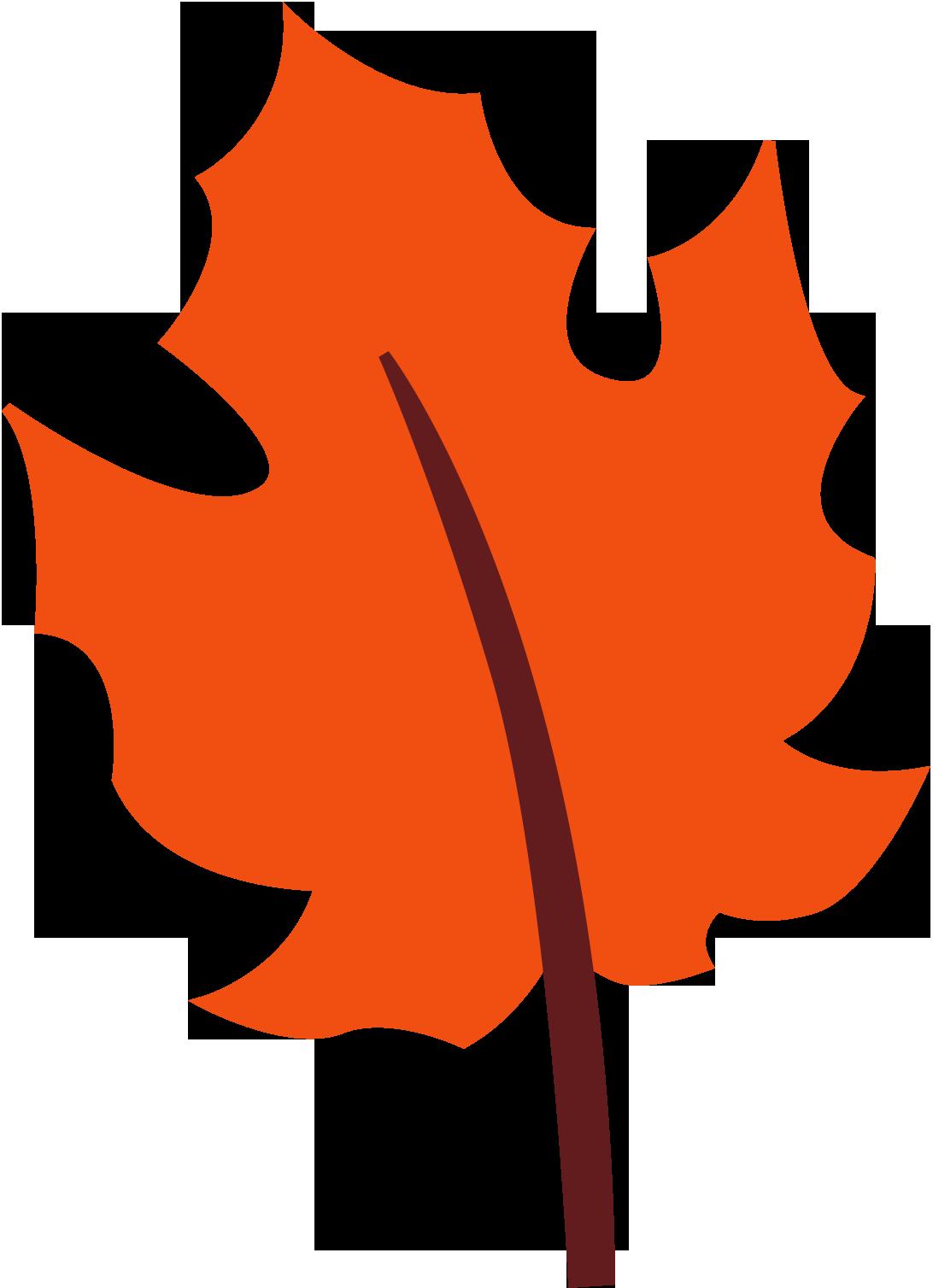 1092x1508 Cute Fall Leaves Clipart