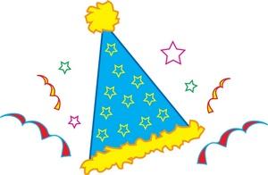 300x196 Confetti Clipart Birthday