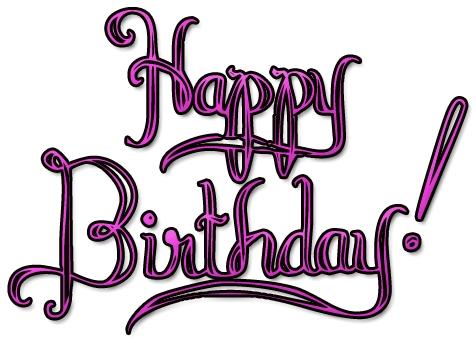 476x343 80th Birthday Clipart