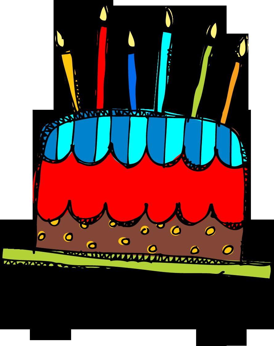 890x1122 Birthday Cake Clipart