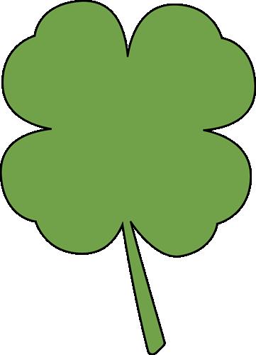 361x500 Four Leaf Clover Clip Art