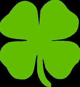 276x299 4 Leaf Clover Clip Art