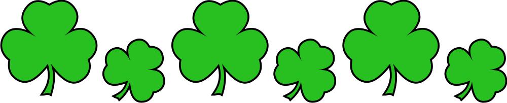 1000x203 Leaf St Patricks Clipart, Explore Pictures