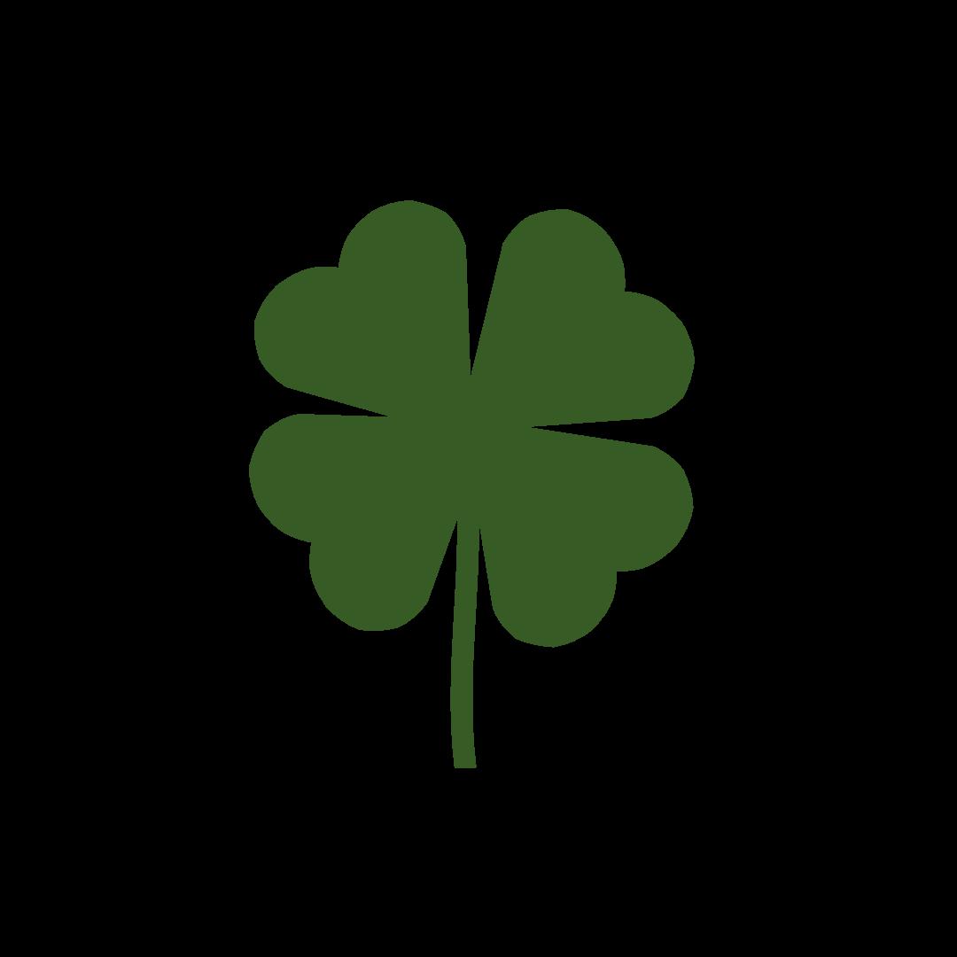 1080x1080 4 Leaf Clover Three Leaf Clover Clip Art Free Idea Clipart