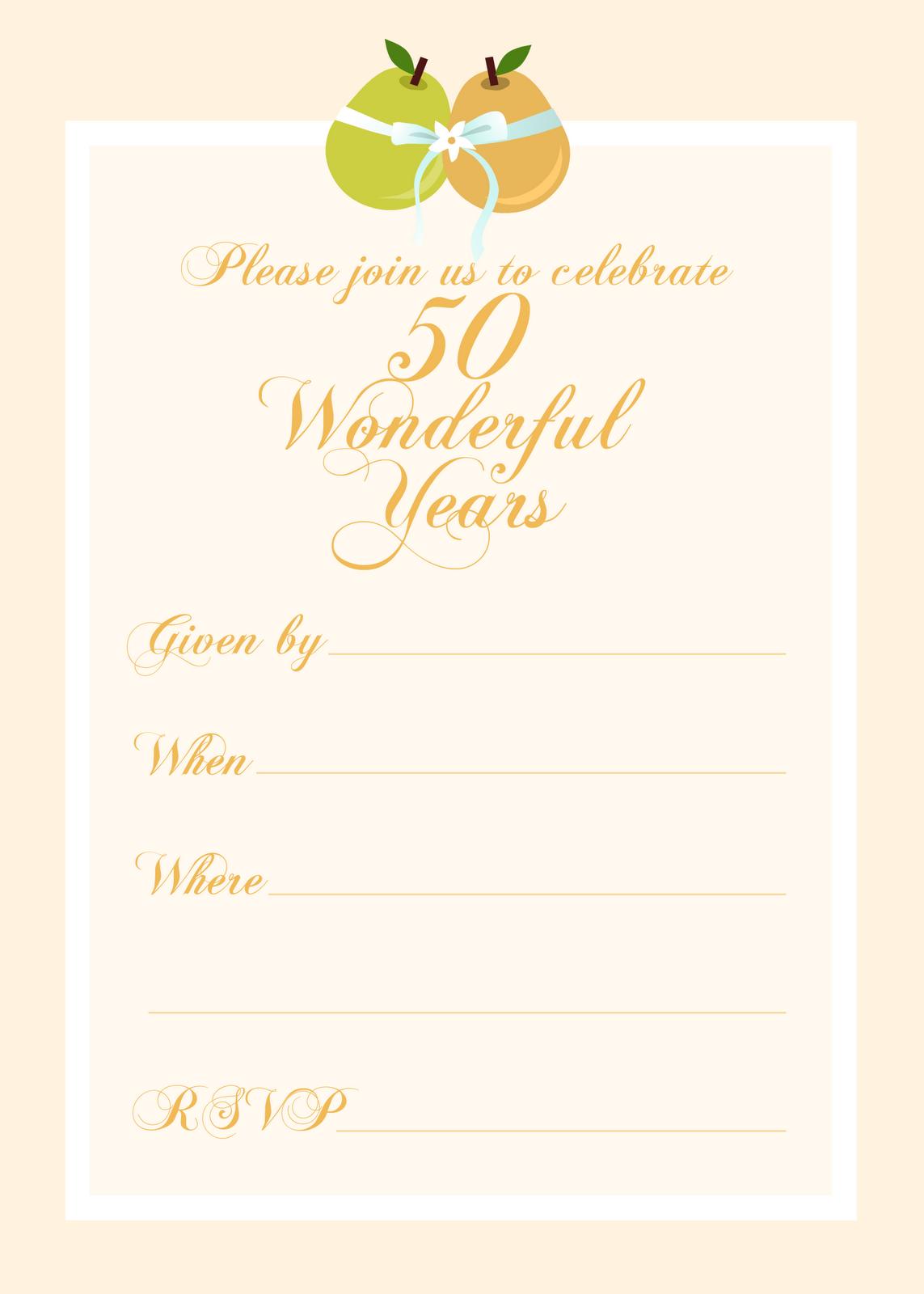 Free Printable Ruby Wedding Anniversary Invitations K Wallpapers - 40th wedding anniversary invitation templates