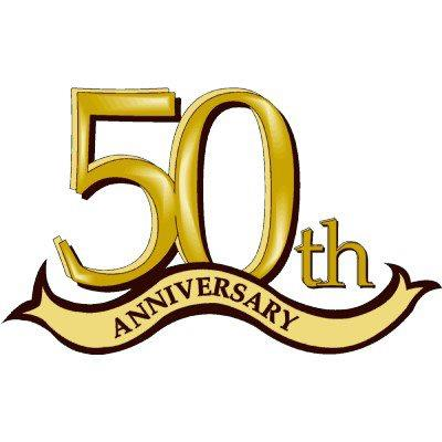 400x400 Happy 50th Anniversary Clipart