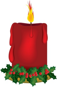 198x300 Candle Clipart Holiday Candle