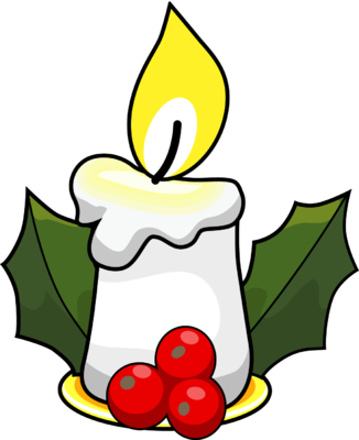 326x400 Graphics For Christmas Candles Clip Art Graphics Www