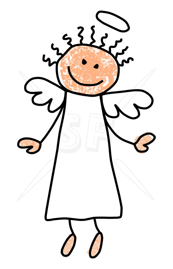 675x1050 Clipart Angel