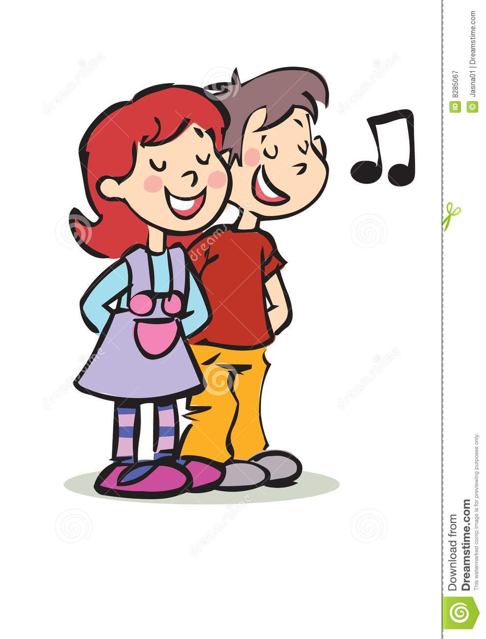 988x1300 A Girl Singing Clipart Images
