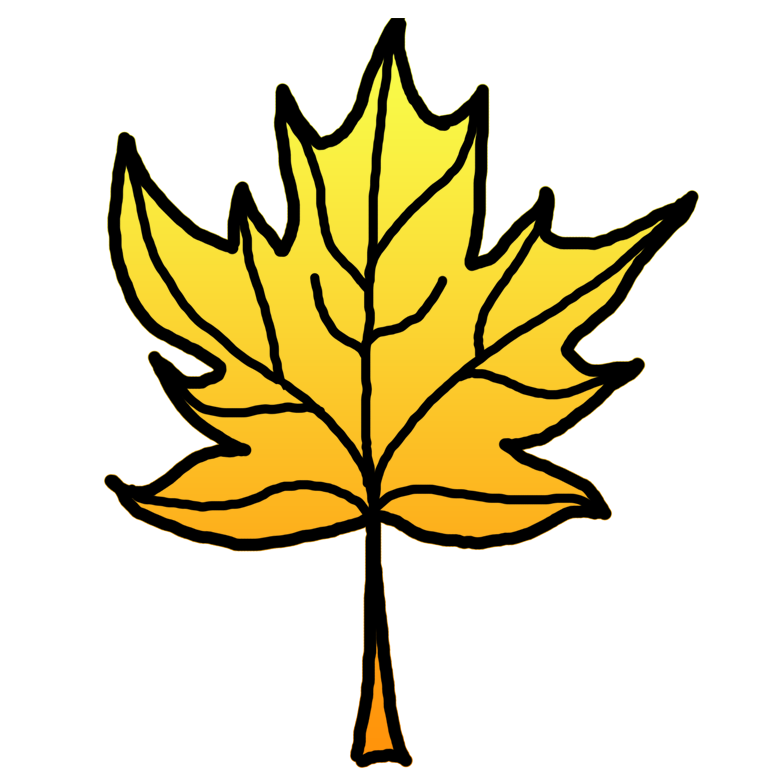 783x783 Leaves Clipart Yellow Leaf
