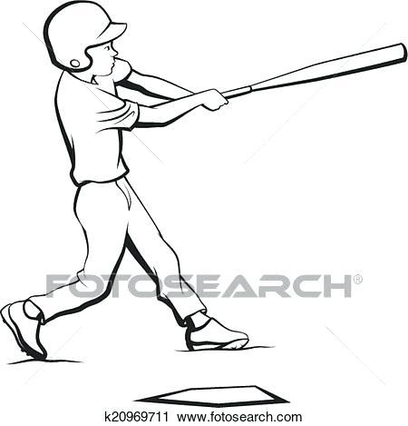 450x469 Clipart Baseball Baseball Boy Batting Search Clip Art Illustration